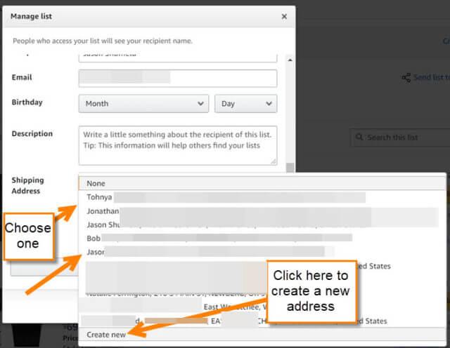 address-option-menu