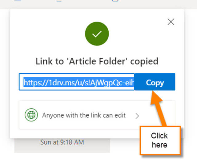 copy-link-screen