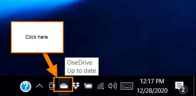 onedrive-task-bar-link
