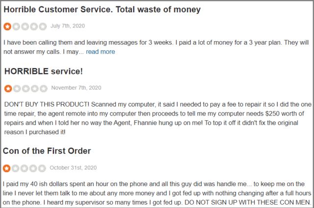 Restoro SiteJabber Reviews