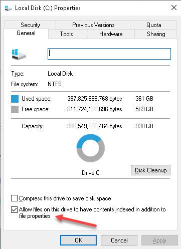 local-disk-properties