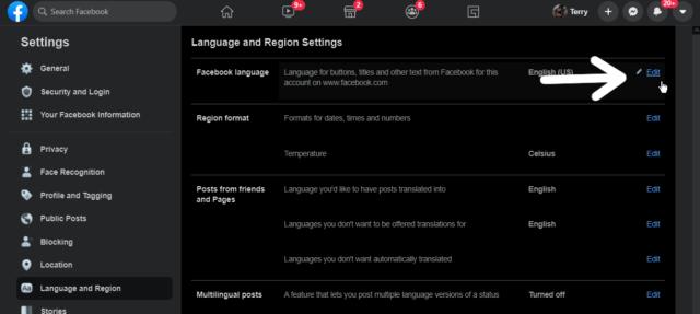 facebook-edit-language-option