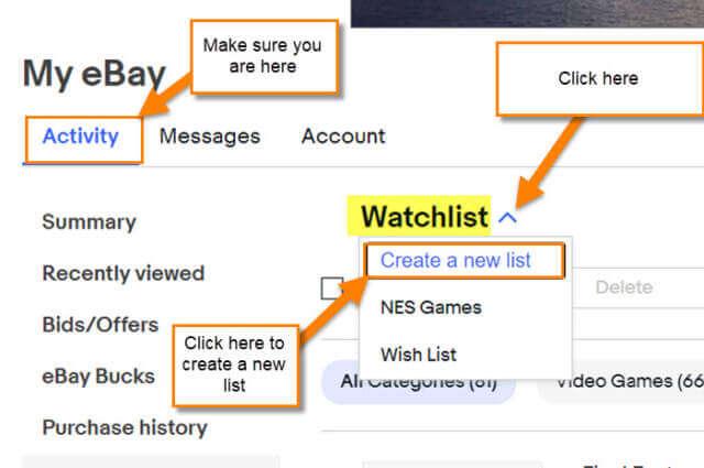 create-list-link