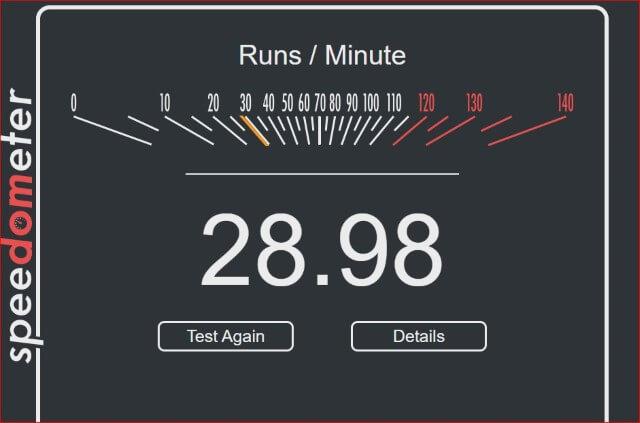 speed-test-result
