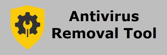 antivirus removal tool banner