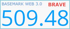 Brave Basemark Test