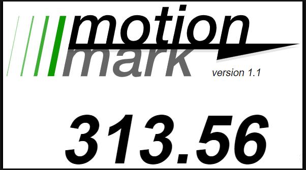 MotionMark Test Chrome