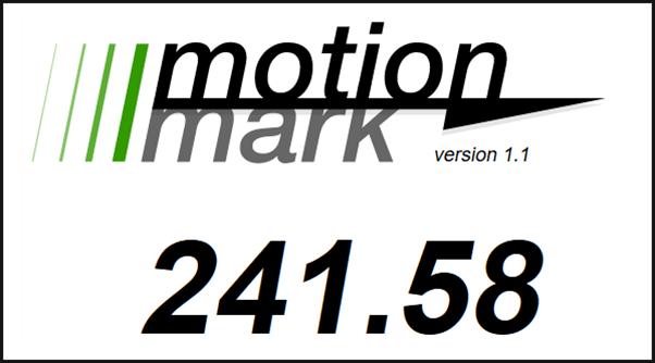 MotionMark Test Firefox