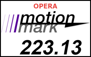 Opera MotionMark Test
