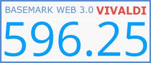 Vivaldi Basemark Test