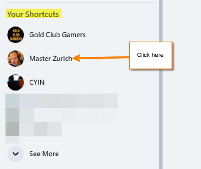 your-shortcuts-menu