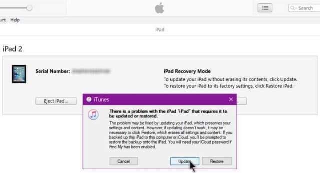 ipad-detected-problem-update-restore