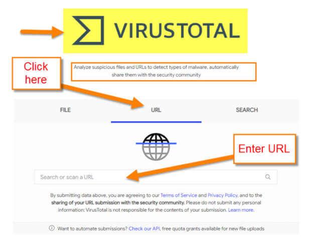 virustotal-website