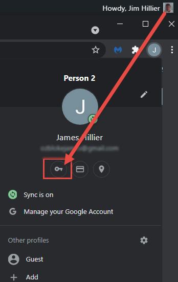 Chrome Enable Save Passwords
