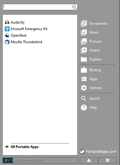 PortableApps Installed Apps