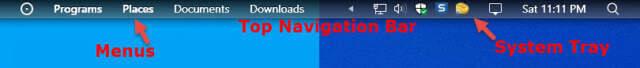 Cairo Top Navigation Bar