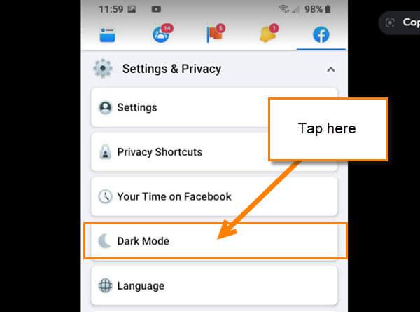 dark-mode-option