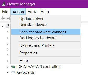 device-manager-scan-for-hardware-changes