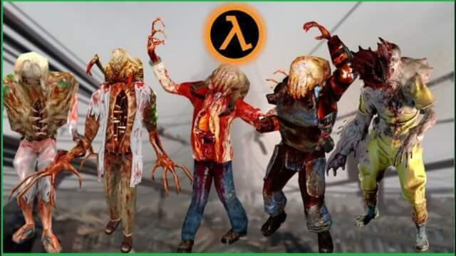 half-life zombies