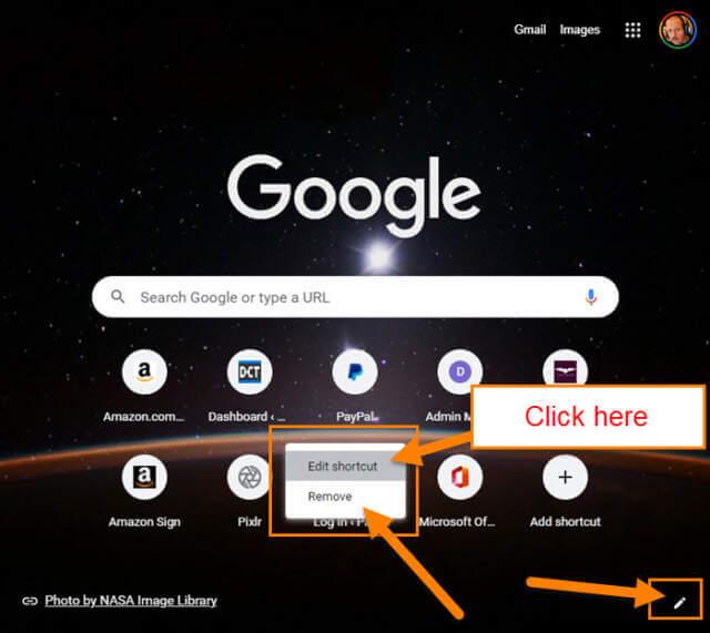 edit-shortcut-link