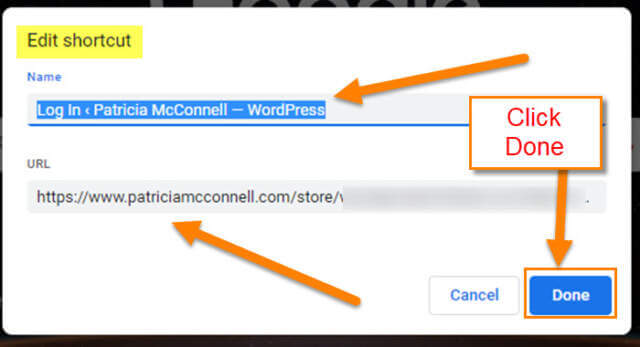 edit-shortcut-window