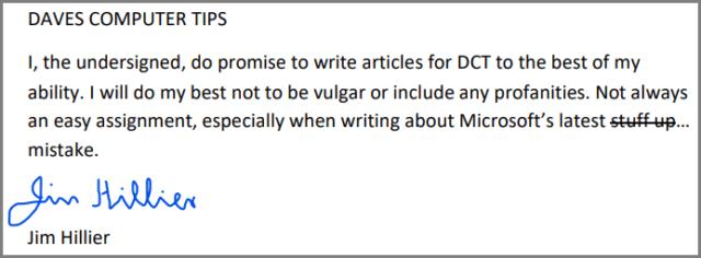 PDF Signature Example