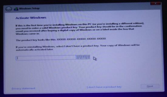 windows-11-install-activation-insert-product-key