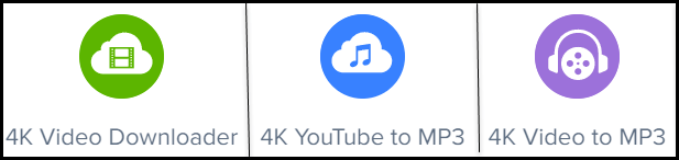 4KDownload Music and Video Downloaders