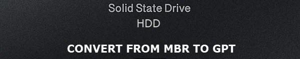 MBR2GPT Conversion