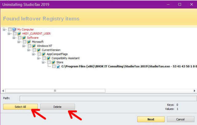 remove-left-over-registry-items