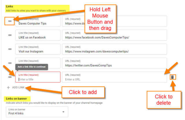 add-links-options